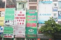 Cấm quảng cáo mặt tiền cửa hiệu: Có làm được không