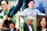 Những đại gia gặp vận đen trong top 10 tỷ phú Việt