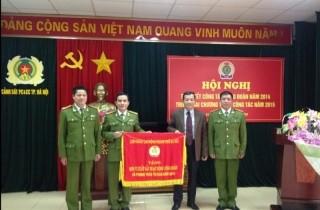 Công đoàn Cảnh sát PC&PC Hà Nội triển khai nhiệm vụ 2015