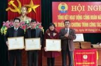 LĐLĐ thị xã Sơn Tây:  Phấn đấu đón nhận Huân chương Lao động hạng Nhất