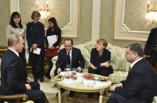 Lãnh đạo bốn nước đàm phán thâu đêm về Ukraine