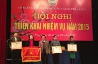 Cơ quan LĐLĐ Tp Hà Nội: Phát động 3 đợt thi đua lớn năm 2015