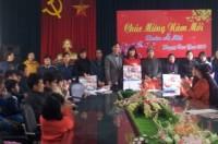 LĐLĐ huyện Gia Lâm chăm lo Tết cho CNLĐ