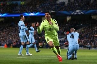 Man City 1-2 Barca: Sự lợi hại từ Suarez