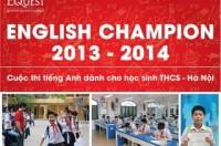 Khởi động mùa giải thứ hai English Champion 2014
