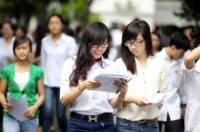 Công bố đợt thi và lịch thi tuyển sinh ĐH, CĐ năm 2014 đối với kỳ thi chung.
