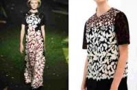 Zara nhái mẫu thiết kế của các hãng mốt cao cấp