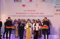 """Bà Nguyễn Thị Nga được tôn vinh """"Doanh nhân Nữ ASEAN tiêu biểu"""""""