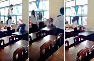 """Nữ sinh Trà Vinh bị đánh """"hội đồng"""" gây phẫn nộ"""