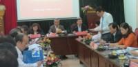 Đoàn Chủ tịch Tổng LĐLĐVN làm việc với LĐLĐ TP. Hà Nội