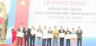 Ứng Hoà hưởng ứng Tuần lễ Quốc gia ATVSLĐ - PCCN 2015