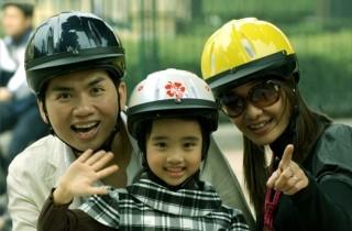 """Quy định đội mũ bảo hiểm trẻ em trước giờ """"G"""""""