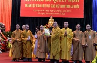 Lai Châu: Thành lập Giáo hội Phật giáo Việt Nam