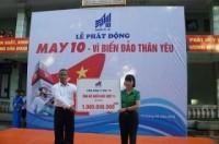 Tổng công ty May 10 phát động ủng hộ vì biển đảo thân yêu