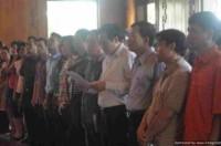 Đoàn đại biểu cán bộ Công đoàn, Công nhân giỏi Thủ đô báo công dâng Bác