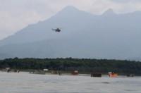 Diễn tập trực thăng cứu nạn nhân lũ lụt ở Hà Nội