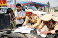 Tiện lợi khi nộp phạt vi phạm giao thông qua tài khoản