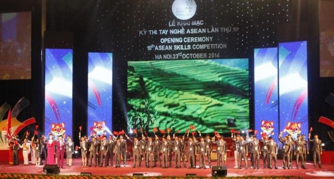 Khai mạc Kỳ thi tay nghề ASEAN lần thứ X