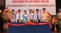 Ra mắt phiên bản mới Báo Điện tử Lao động Thủ đô