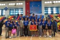 """Hà Nội đạt giải nhì giải bóng bàn """"Người giáo viên nhân dân"""" toàn quốc năm 201"""