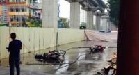 Đứt dây cáp, một người chết ở công trường đường sắt trên cao Hà Nội