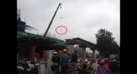 Công điện khắc phục hậu quả tai nạn tại công trường đường sắt trên cao