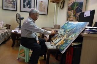 Trăn trở nghề vẽ tranh nude