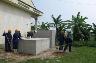 Ấn tượng công trình xây bể xử lý nước của cô nữ sinh lớp 11