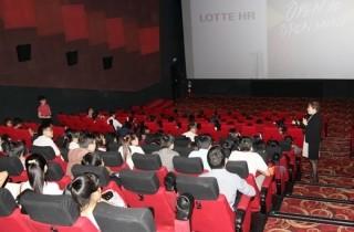 Lotte rầm rộ tuyển dụng nhân sự tại các trường Đại học