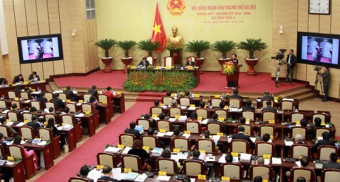 Khai mạc kỳ họp thứ 11 TP Hà Nội khóa XIV