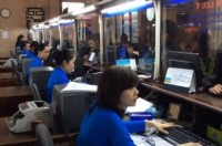 Vé tàu Tết còn nhiều, người đến ga mua vé giảm hẳn