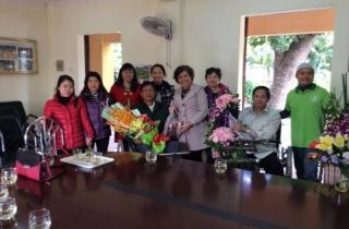 Thăm và tặng quà Trung tâm điều dưỡng thương binh Thuận Thành, Bắc Ninh