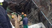 Sự cố dự án đường sắt trên cao: Giáo chống thi công không đảm bảo an toàn