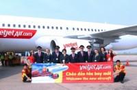 Vietjet nhận thêm tàu bay mới