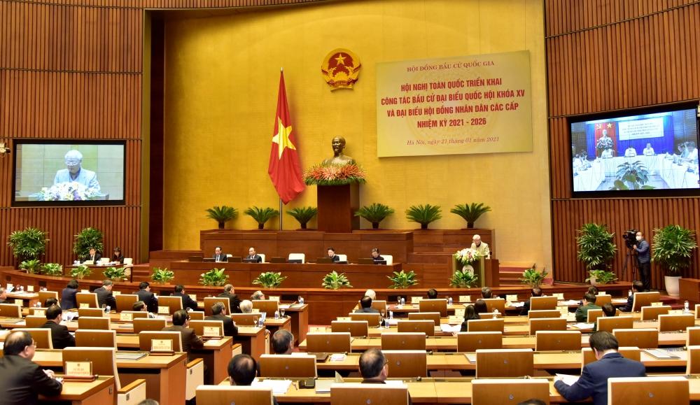 Bầu các đại biểu Quốc hội và Hội đồng nhân dân các cấp hội đủ yếu tố đức, tài