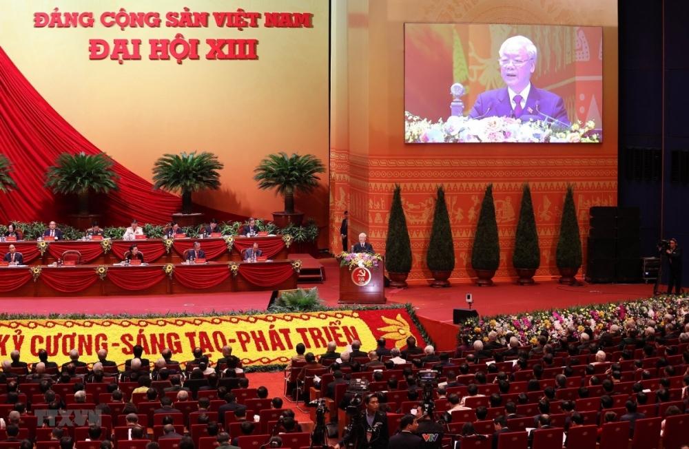 Toàn văn Báo cáo của Ban Chấp hành Trung ương khóa XII về các Văn kiện trình Đại hội