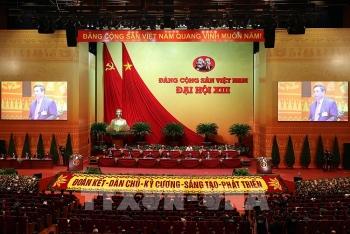 Tin tưởng sẽ bầu được những đồng chí xứng đáng nhất vào Ban Chấp hành Trung ương khoá XIII
