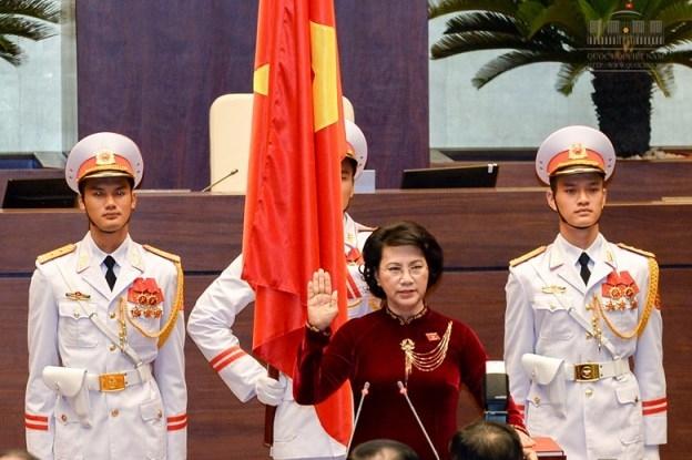Quốc hội tiến hành quy trình miễn nhiệm với Chủ tịch Quốc hội Nguyễn Thị Kim Ngân