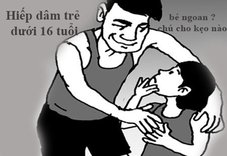 Đối tượng xâm hại trẻ em từ người ruột thịt, thân thích có xu hướng tăng