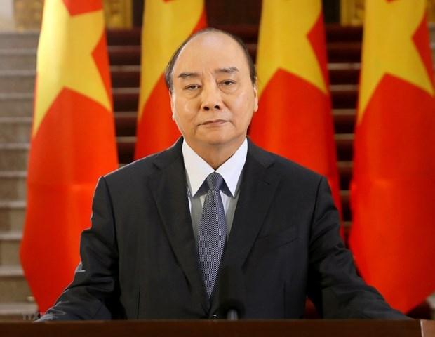 Ông Nguyễn Xuân Phúc được giới thiệu để Quốc hội bầu Chủ tịch nước