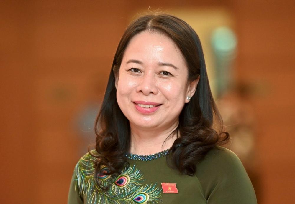 Miễn nhiệm Phó Chủ tịch nước Đặng Thị Ngọc Thịnh, đề cử bà Võ Thị Ánh Xuân bầu giữ chức Phó Chủ tịch nước