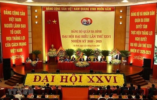 Chủ tịch nước gửi thư chúc mừng Đảng bộ, chính quyền và nhân dân quận Ba Đình