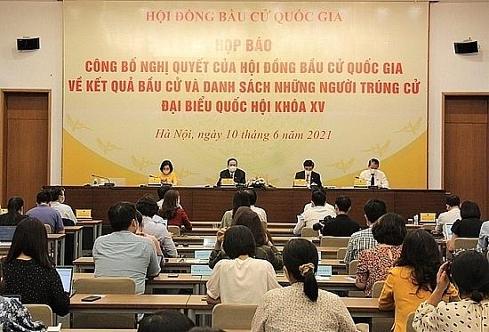 Danh sách 29 người trúng cử đại biểu Quốc hội khóa XV thành phố Hà Nội