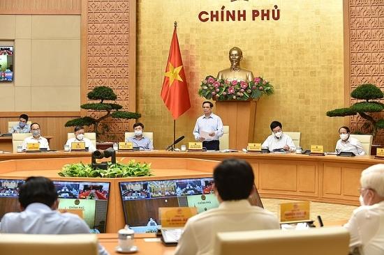 """Thủ tướng Phạm Minh Chính: Thực hiện Chỉ thị 16 phải quán triệt phương châm """"rõ, nghiêm, chắc, hiệu quả"""""""