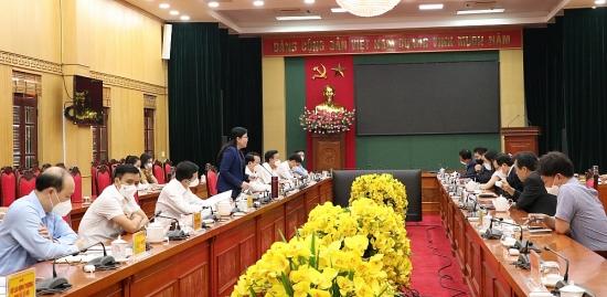"""Thái Nguyên: Đồng hành cùng doanh nghiệp để hoàn thành """"mục tiêu kép"""""""