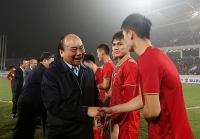 Thủ tướng gọi điện hỏi thăm, động viên tinh thần Đội tuyển quốc gia nhân Tết Độc lập