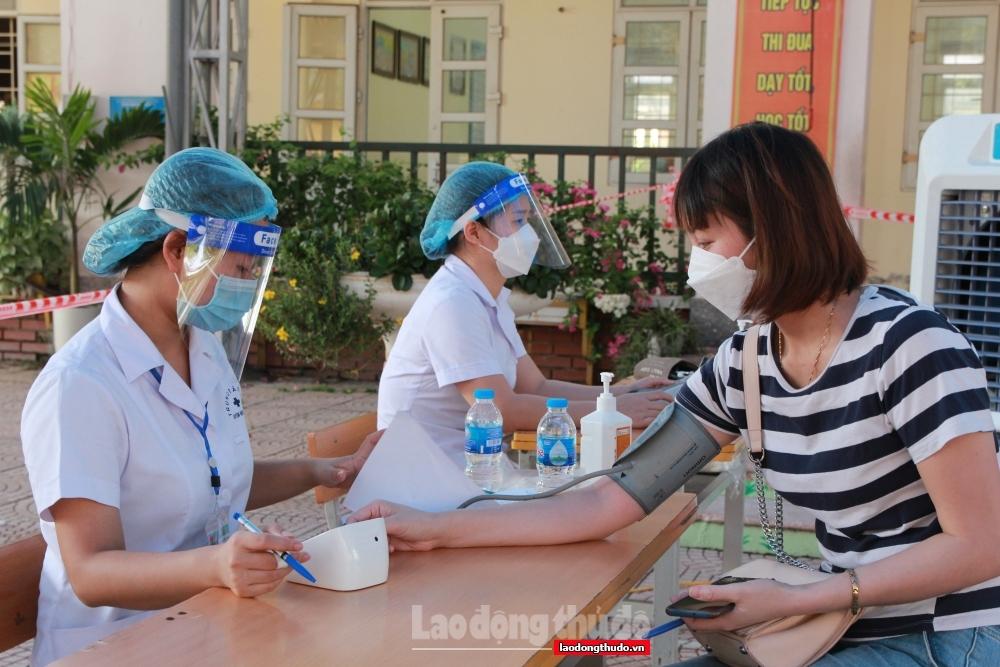 Tính đến 12h ngày 11/9: Hà Nội đã tiêm 3.729.843/4.591.476 liều vắc xin được cấp