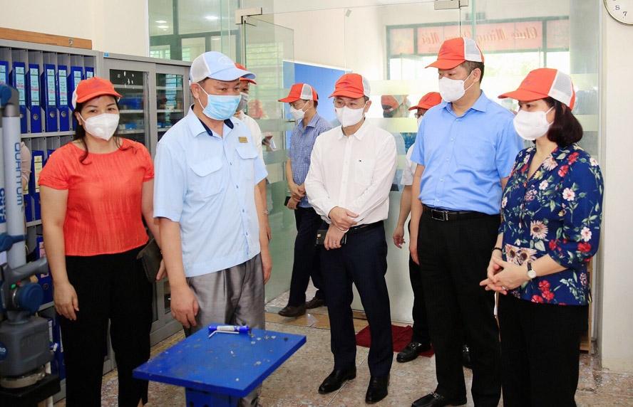 Công đoàn Thủ đô đồng hành cùng doanh nghiệp khôi phục sản xuất kinh doanh