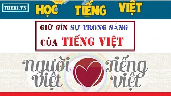 Hãy trân quý Tiếng Việt!