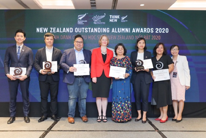 New Zealand vinh danh cựu du học sinh Việt có thành tích nổi bật
